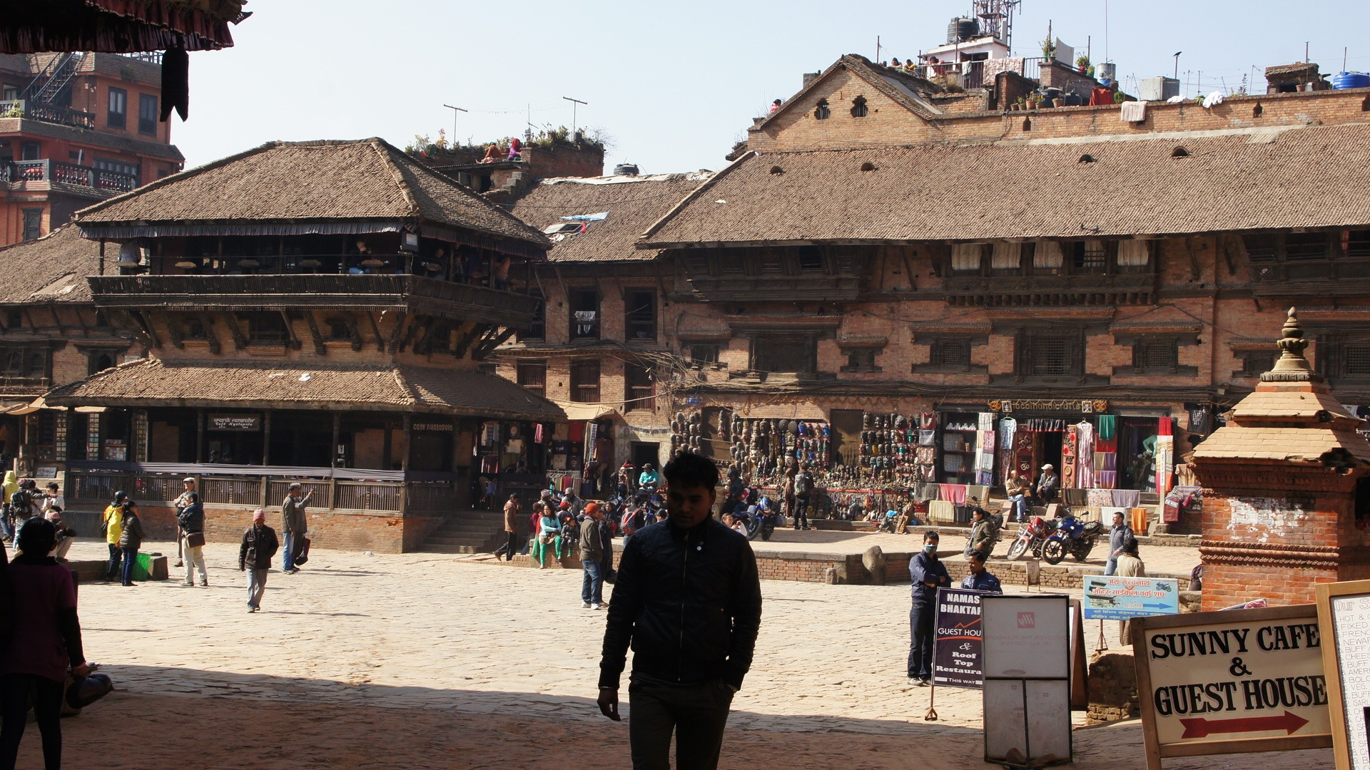 Artisanat sur Durbar Square Bhaktapur Nepal