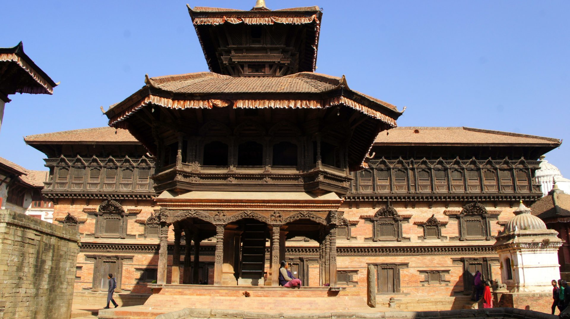Durbar square à Bhaktapur Nepal