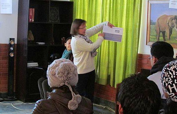 Formation étudiants Congé solidaire avec Planète Urgence Nepal