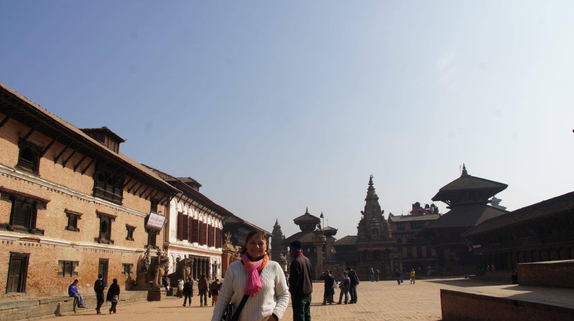 Grande place Bhaktapur Népal