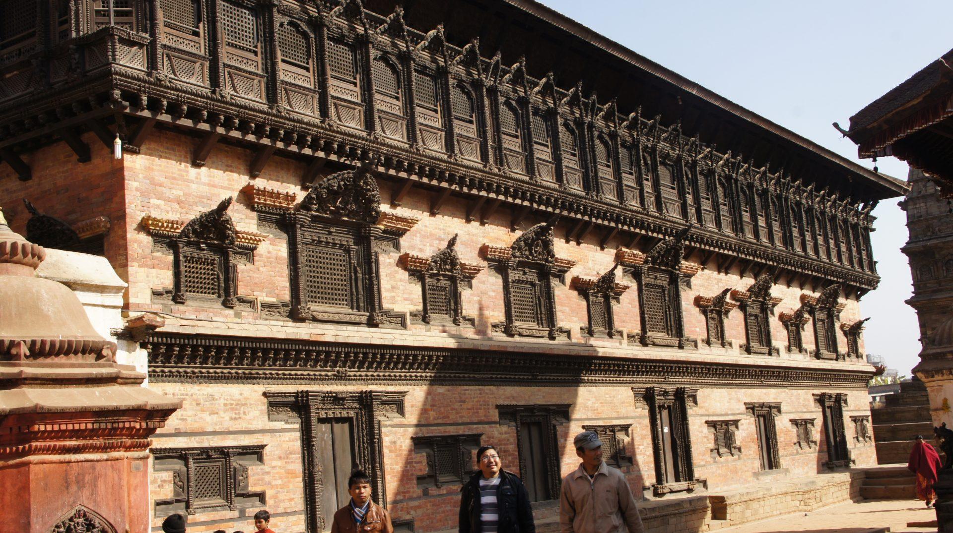 Palais royal Bhaktapur Nepal