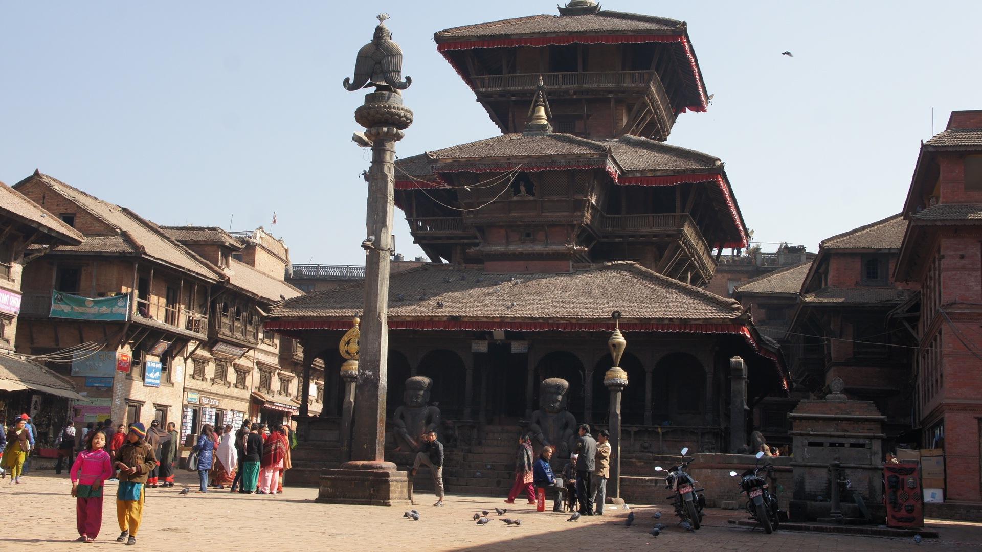 Place Bhaktapur Népal