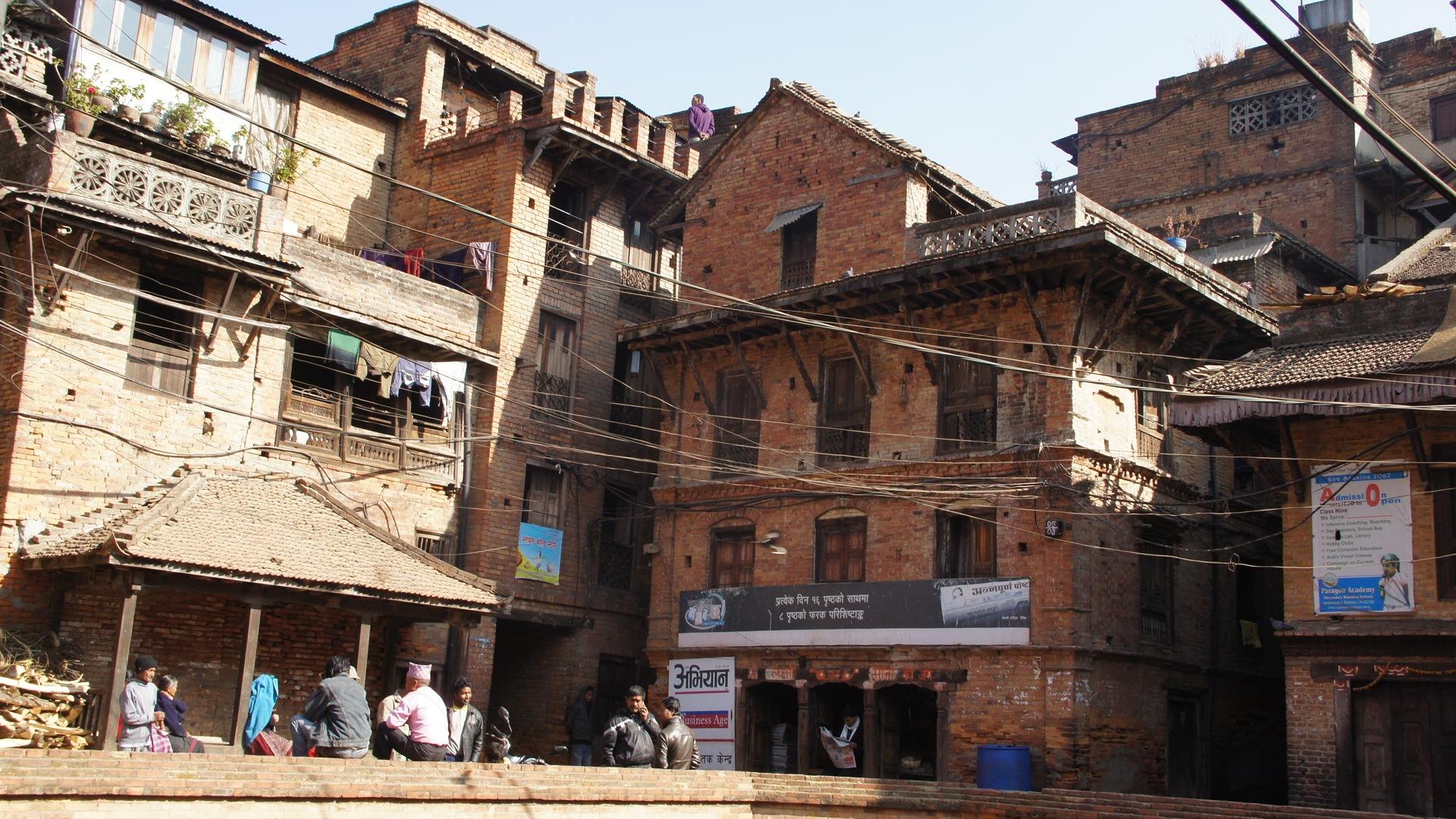 Réseau électrique Bhaktapur Népal