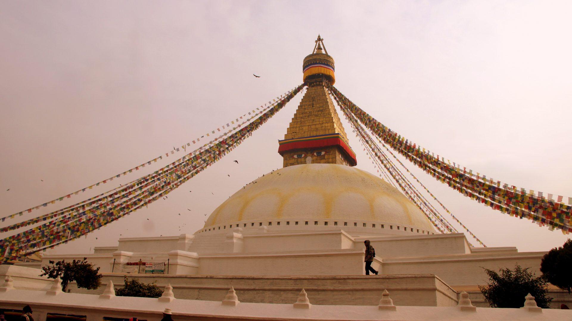 Stupa Bodnath Kathmandou Nepal