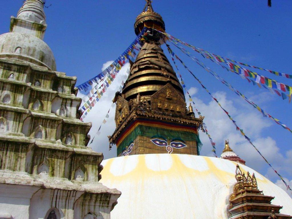 Stupa Swayambhunath Kathmandou Nepal