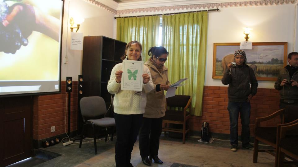 Diplome de fin de stage WCN Kathmandou Nepal