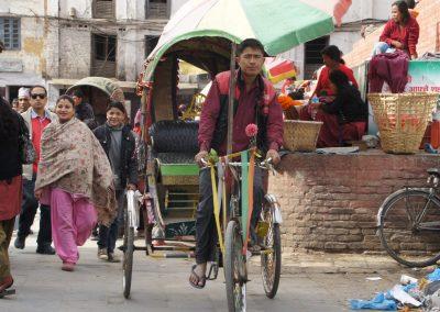 Ambiance Kathmandou Népal
