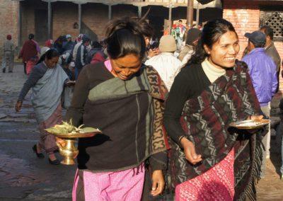 Cérémonie religieuse Kokhana Népal