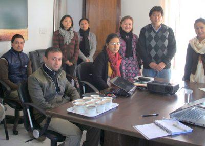 Equipe Wordlife Conservation Népal