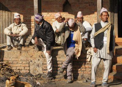 Hommes Kokhana Népal