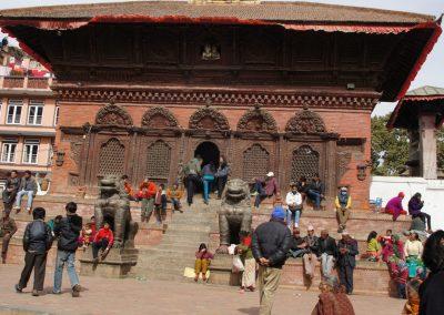 Place Durbar Square Kathmandou Népal