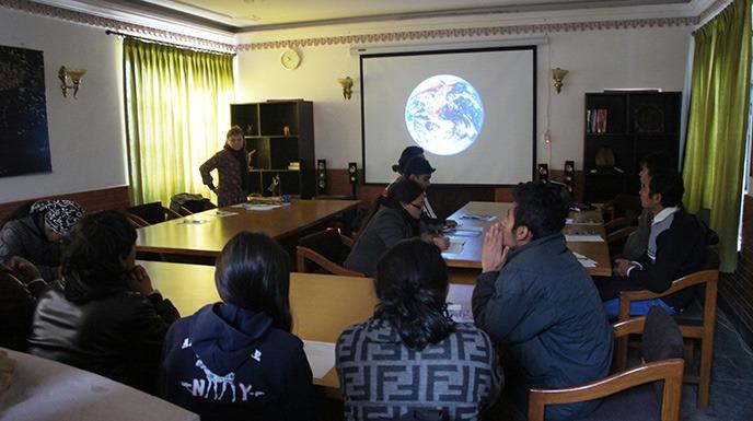 Salle cours WCN Kathmandou Nepal