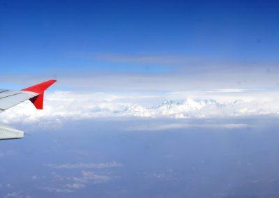 Survol de l'Himalaya Népal