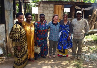 Avec membres Slow Food Tanzanie