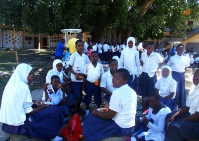 Cour école Tanzanie