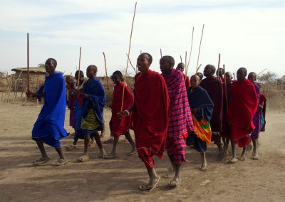 Danse Masaï Tanzanie