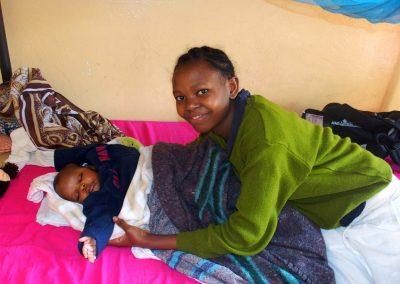 Jeune maman Tanzanie