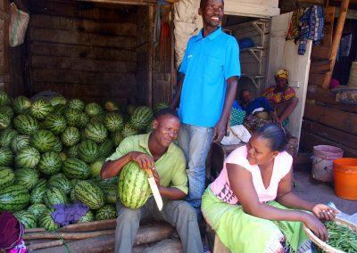 Marchand pastèques Tanzanie