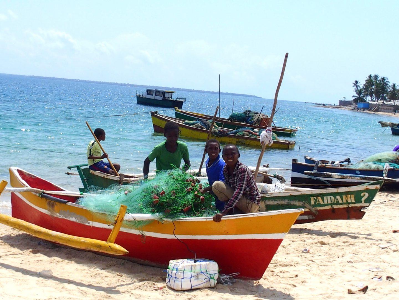 Bateaux pêche Pemba - Mozambique