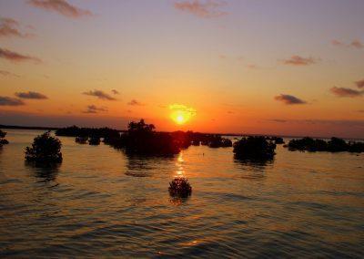 Coucher soleil Ibo - Mozambique