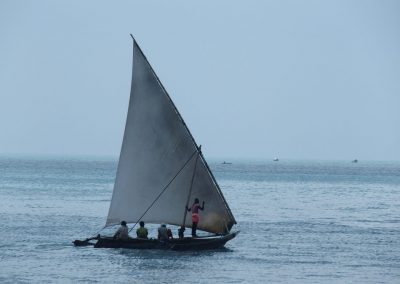 Dhow traditionnel Zanzibar