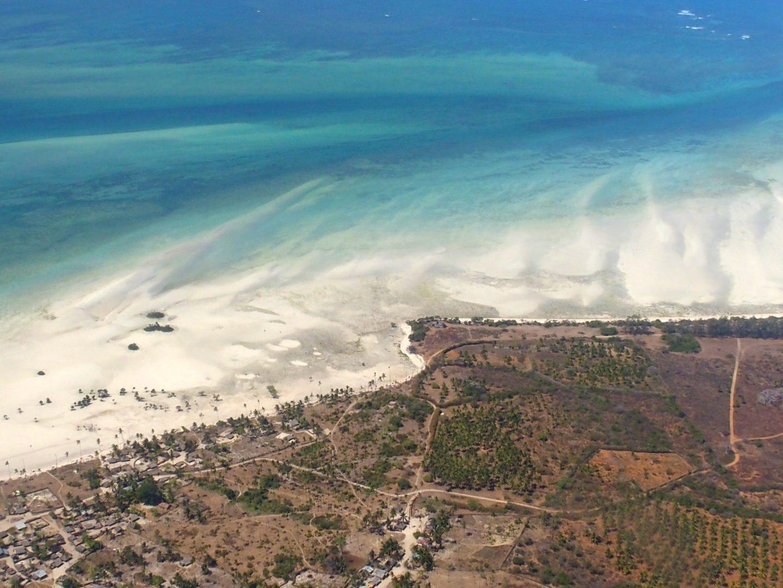 Ibo vue d'en haut - Mozambique