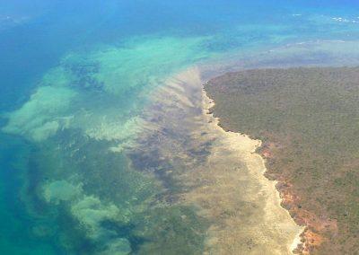 Ibo vue du ciel - Mozambique