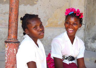 Jeunes élèves île d'Ibo - Mozambique