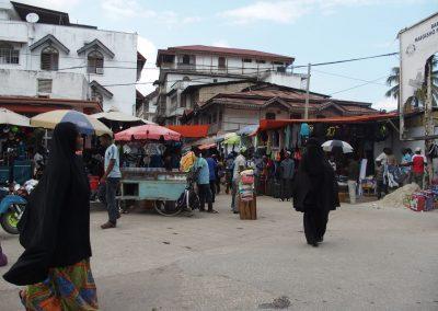 Place du marché Stone Town - Zanzibar