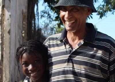 Raoul et sa fille - Mozambique