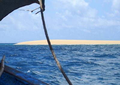 Sand bank Ibo - Mozambique