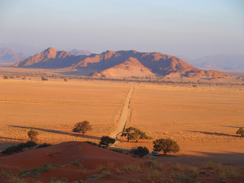 Sur la route des dunes du Namib Namibie