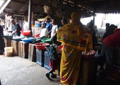 Sur le marché - Zanzibar