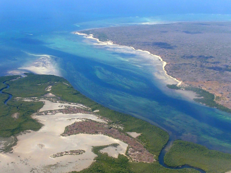 Survol île d'Ibo - Mozambique