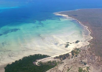 Vol vers île d'Ibo - Mozambique