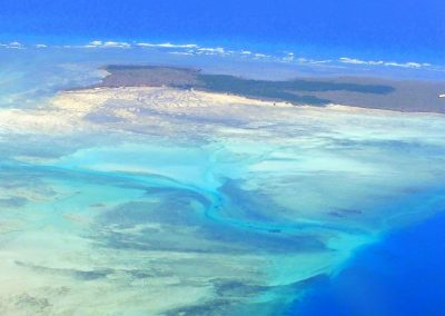 Vol vers l'île d'Ibo - Mozambique