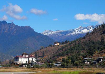 Aéroport de Paro Bhoutan