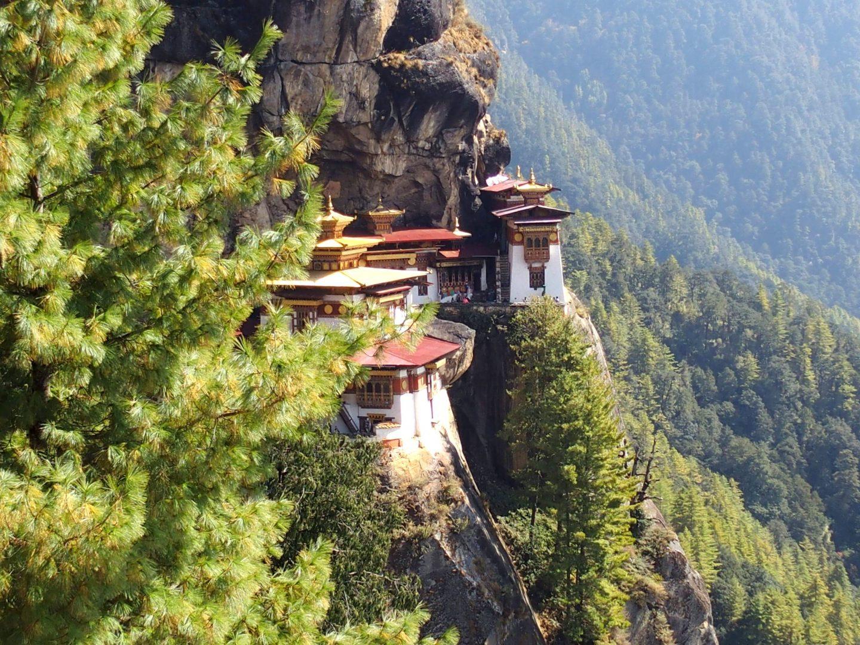Arrivée au Tiger Nest 11 jours au Bhoutan