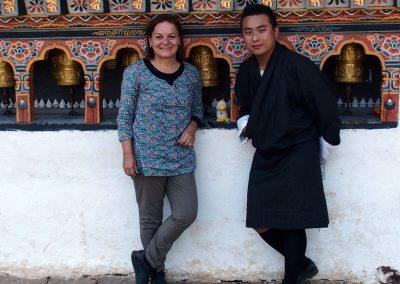 Avec Couinn-Couinn et Karma Bhoutan