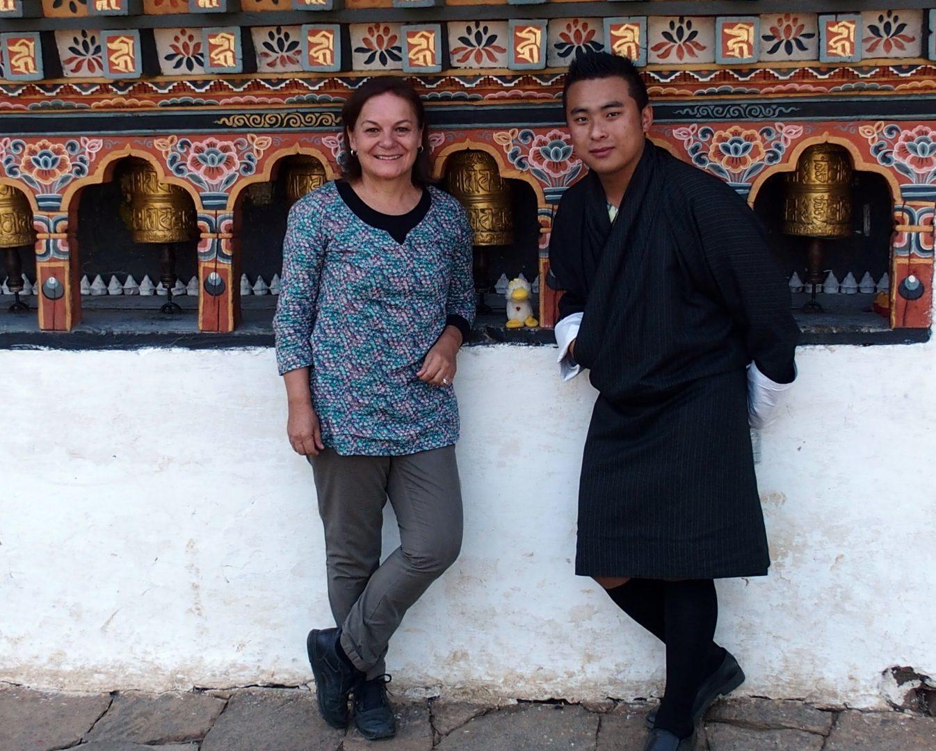 vec Couinn-Couinn et Karma voyage au Bhoutan