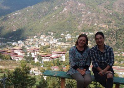 Avec Sonam au Bhoutan