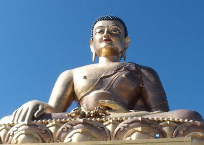 Bouddha au Bhoutan