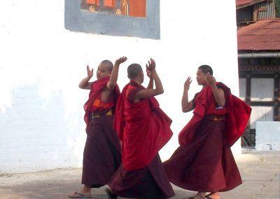 Danse de moines Bhoutan