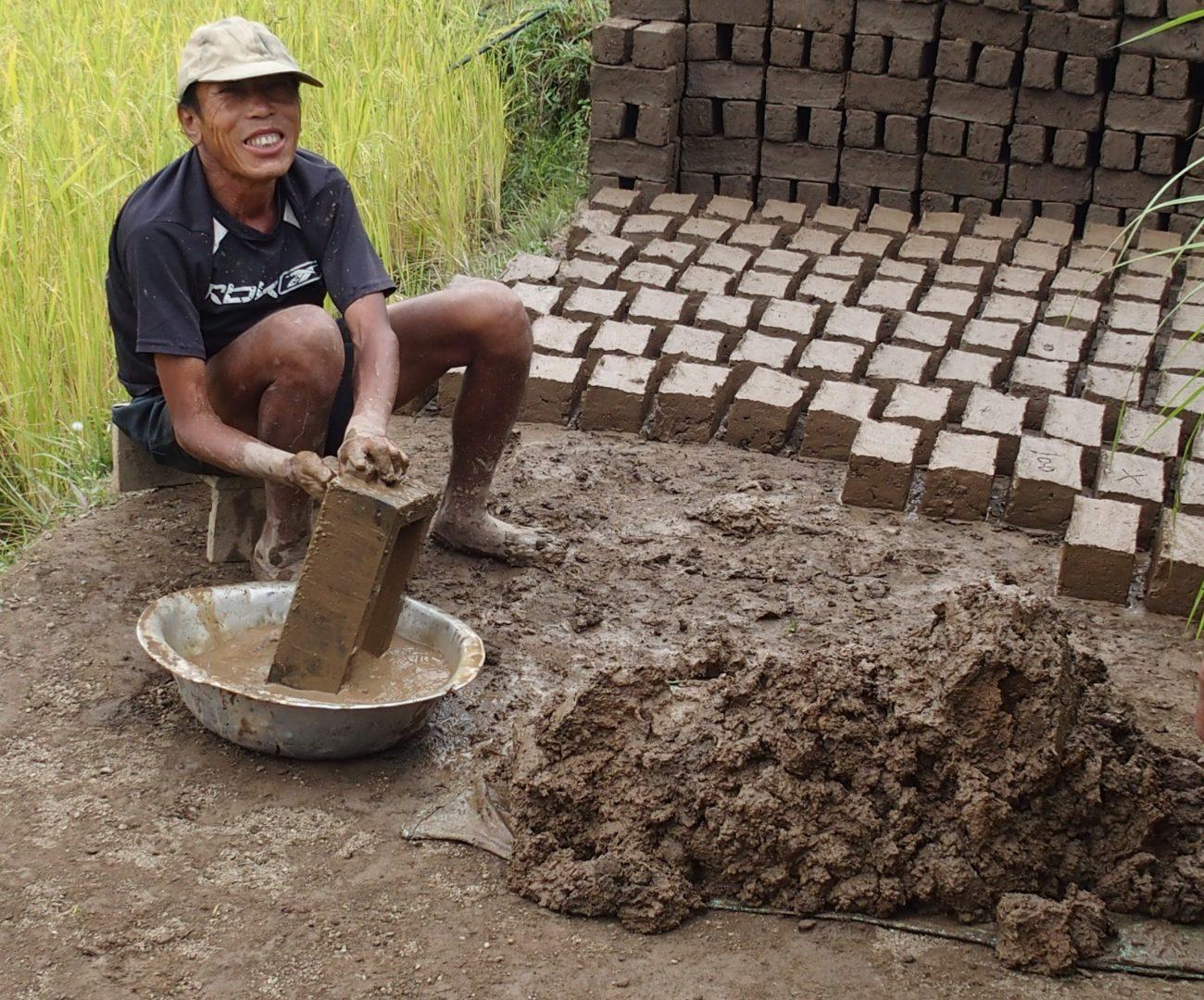 Début de construction de Palighar Kalimpong Inde