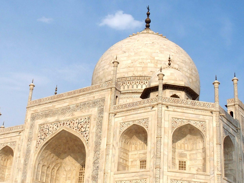Dôme Taj Mahal Inde