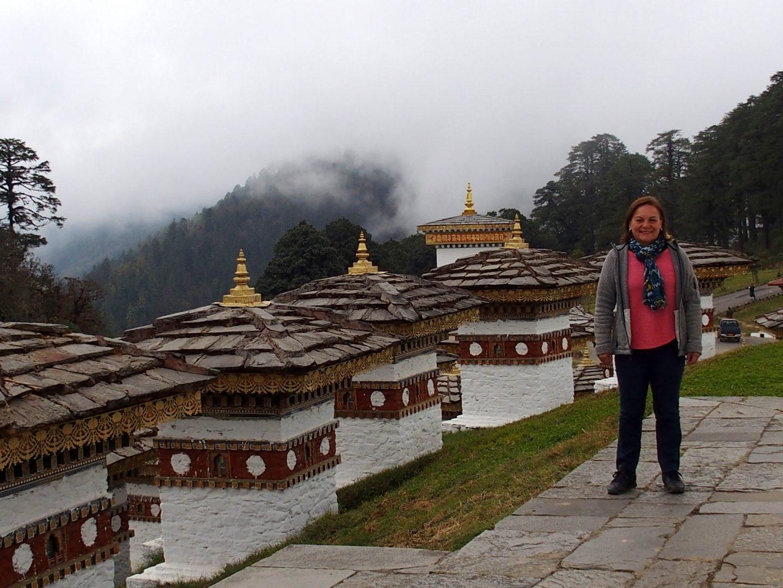 Dochu La dans le brouillard 11 jours de voyage au Bhoutan
