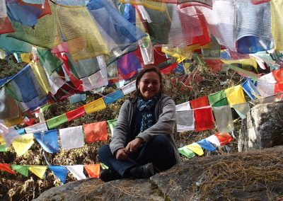 Drapeaux de prière Bhoutan