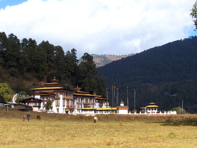 Dzong Trongsa Bhoutan