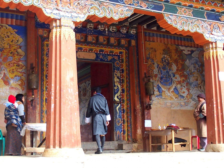 Entrée monastère Gangtey 11 jours au Bhoutan