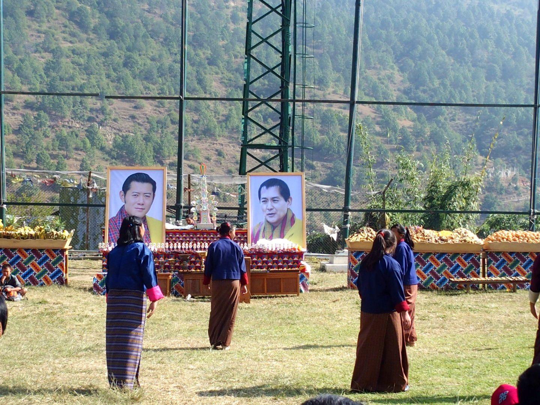 Fête hommage anniversaire Roi 11 jours au Bhoutan